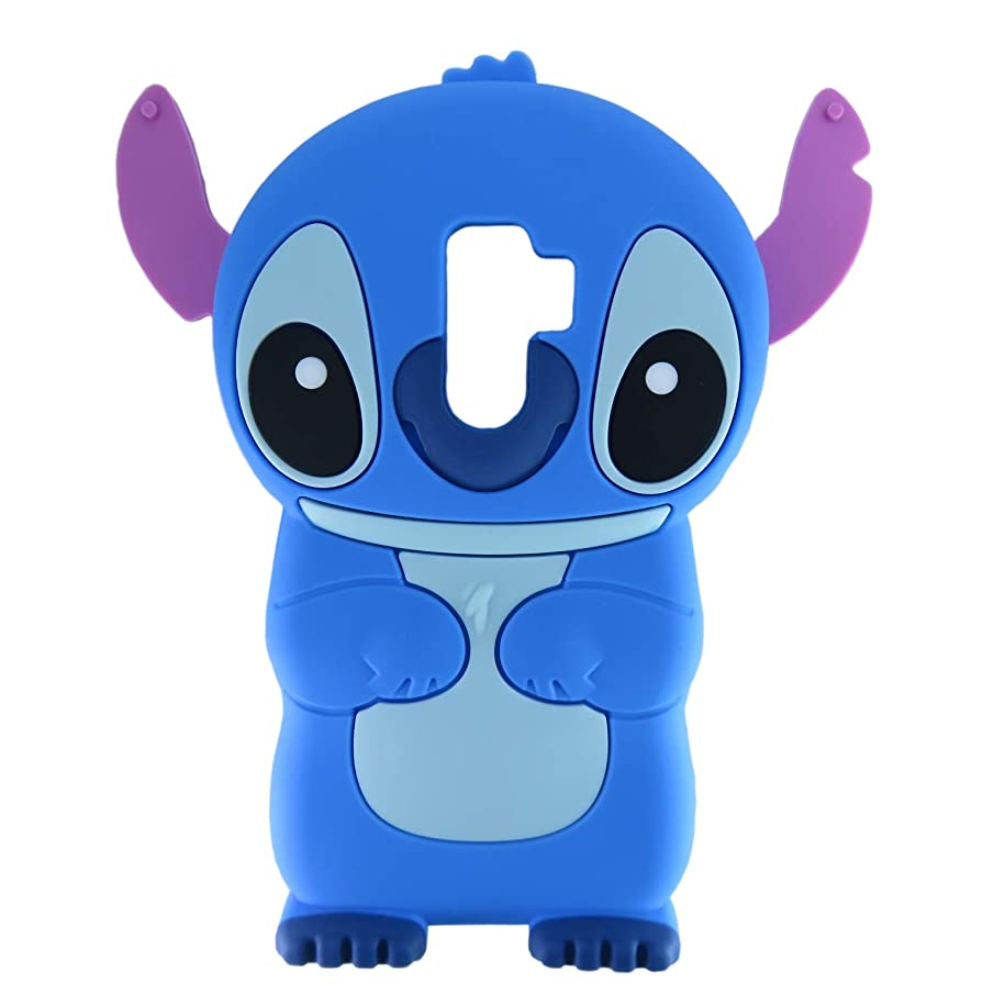 EMF Alien Dog Case for Samsung Galaxy S9 Plus,3D Cartoon Animal Cute Silicone Rubber Protective Kawaii Funny Character Cover,Animated Fun Cool Skin Cases for Kids Teens Girls Guys