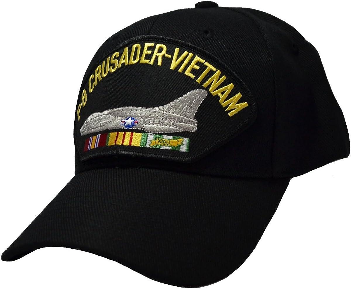 Military Productions F-8 Crusader Vietnam War Cap Black