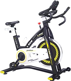 pooboo Indoor Cycling Bike Trainer, Professional Exercise Bike Stationary Bike for Home Cardio Gym Workout