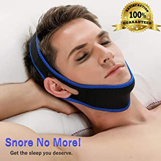 Anti Snoring Chin Strap, Premium Quality Snoring Device, Snoring Aid, Neoprene, Comfortable, Sleep Aid, Snoring Relief, Snore Stopper – Lightweight and Durable Solution for Men, Women, and Kids