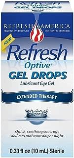 Refresh Optive Gel Drops - 0.33 oz, Pack of 2