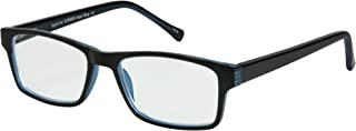 Sightline 6005 Multi Focus Computer Reading Glasses with Anti-Glare Coated Lenses (2.50, Aqua Blue)