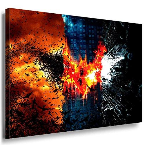 Batman Leinwandbild LaraArt Bilder Mehrfarbig Wandbild 100 x 70 cm
