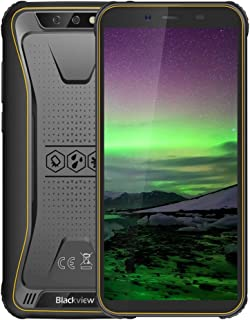 Shenzhen brand smartphone BV5500 Rugged Phone, 2GB+16GB, IP68 Waterproof Dustproof Shockproof, Dual Back Cameras, 4400mAh Battery, 5.5 inch Android 8.1 MTK6580P Quad Core up to 1.3GHz, Network: 3G, OT