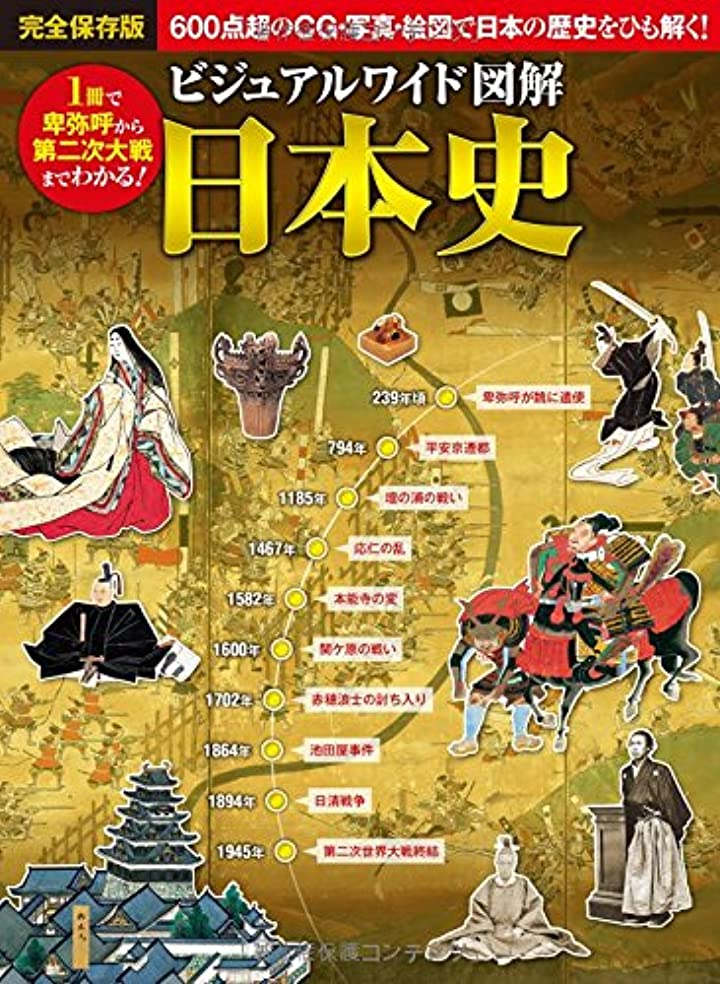 キュービック表向きシエスタビジュアルワイド図解 日本史