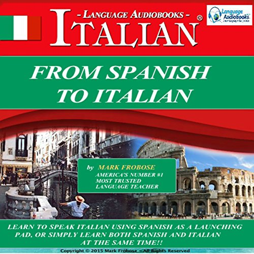 From Spanish to Italian (Italian Edition) audiobook cover art