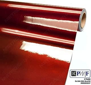 kpmf red black iridescent