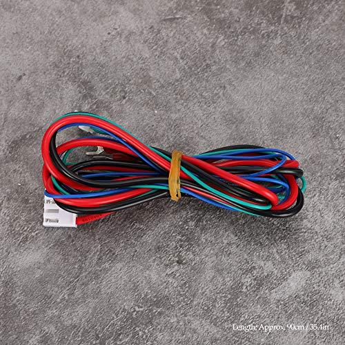 FILFEEL Cable de alimentación Estable Fuerte para Cama con calefacción, Cable de alimentación para Cama Caliente para Anet A8 A6 A2 A3 E12 E10