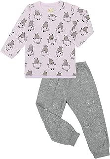 Baa Baa Sheepz Pyjamas Set, Pink/grey, 9-10T
