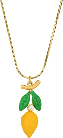 Tory Burch - Lemon Charm Necklace