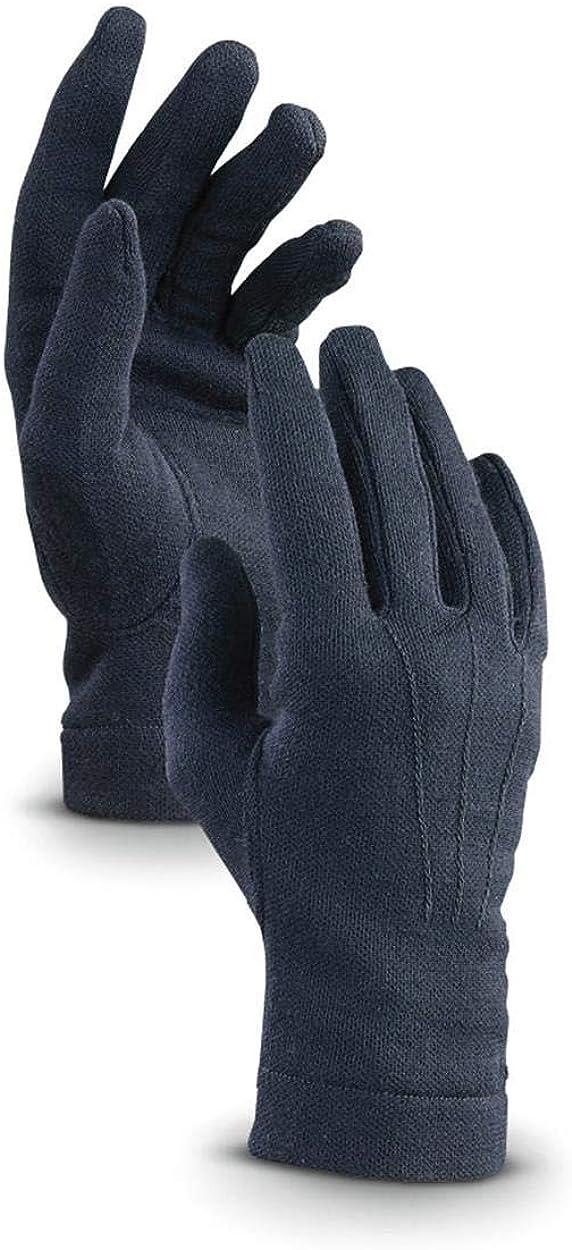 Italian List price Dress Gloves Wool Blend San Antonio Mall Knit Fabric Issue Military El