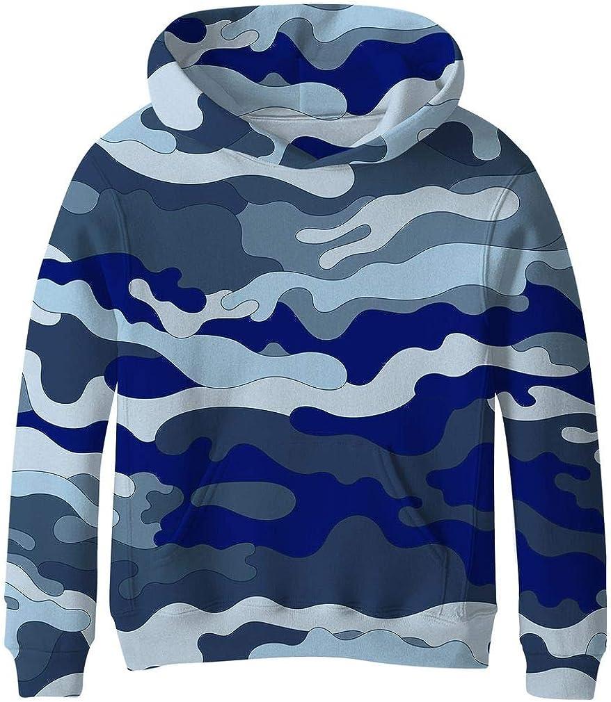 SAYM Teen Boys' Galaxy Year-end gift Fleece Pullover Discount mail order Pocket Hoodie Sweatshirts