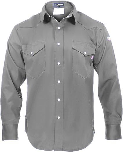 Camisa FR resistente al fuego - 100% C - Peso ligero