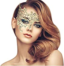 duoduodesign Exquisite Lace Masquerade Mask (Gold/Half/Soft Version)