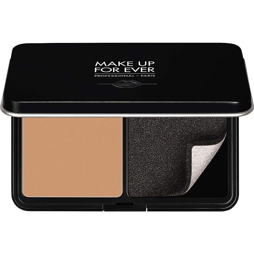 [MAKE UP FOR EVER ] パウダーファンデーション11GののR370をぼかし、これまでマットベルベットの肌を補う - メディアベージュ - MAKE UP FOR EVER Matte Velvet Skin Blurring Powder Foundation 11g R370 - Medium Beige [並行輸入品]