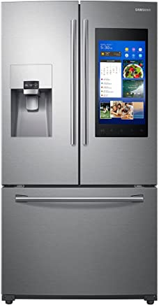 Samsung RF265BEAESR 24 cu. ft. Capacity 3 -Door French Door Refrigerator with Family