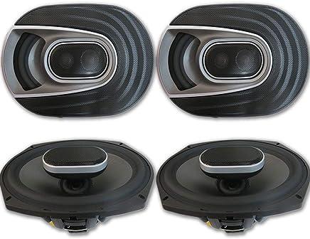 "$289 Get 4 x Polk Audio MM 6x9 Inch 3-way Car Audio Boat Motorcycle Ultra Marine Speakers 6x9"""