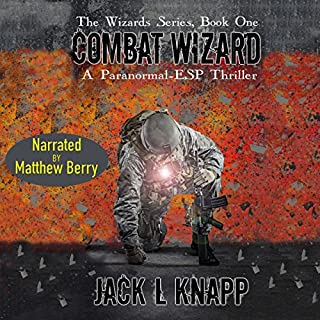 Combat Wizard audiobook cover art