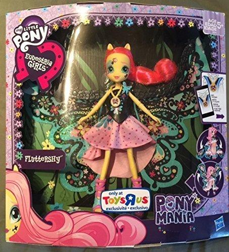 Pony Mania Fluttershy Equestria Girls Doll