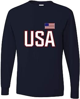 Adult USA National Pride Long Sleeve T-Shirt