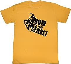 2Bhip Karate Kids 1980's Martial Arts Sports Movie Bow to Your Sensei Adult T-Shirt