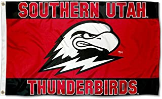 College Flags and Banners Co. Southern Utah Thunderbirds Scarlet Flag