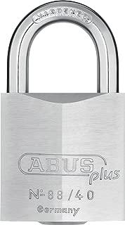 Abus Plus 88 Series Brass Padlock 40mm, Keyed Different