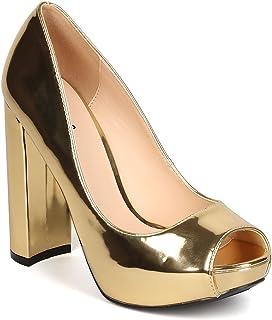 042aeab99c0 Gold Women's Pumps & Heels | Amazon.com