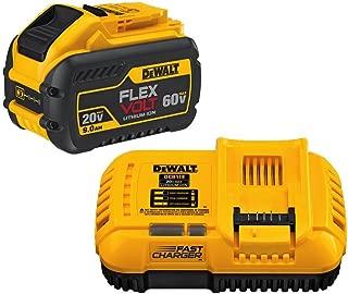 DEWALT DCB118X1 20/60V MAX FLEXVOLT Lithium-Ion 9.0Ah Battery Pack with Fan-Cooled Charger