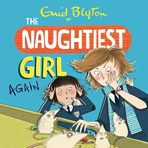 Naughtiest Girl Again audiobook cover art
