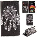 Ooboom LG X Power Coque PU Cuir Flip Housse Étui Cover Case Wallet Portefeuille Supporter avec Porte-cartes pour LG X Power -...