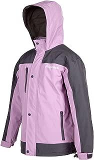 OAKI Rain Jacket for Kids/Toddlers, Waterproof, Breathable, Lightweight with Hood