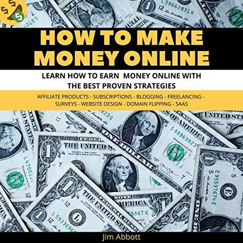 How to Make Money Online audiobook cover art