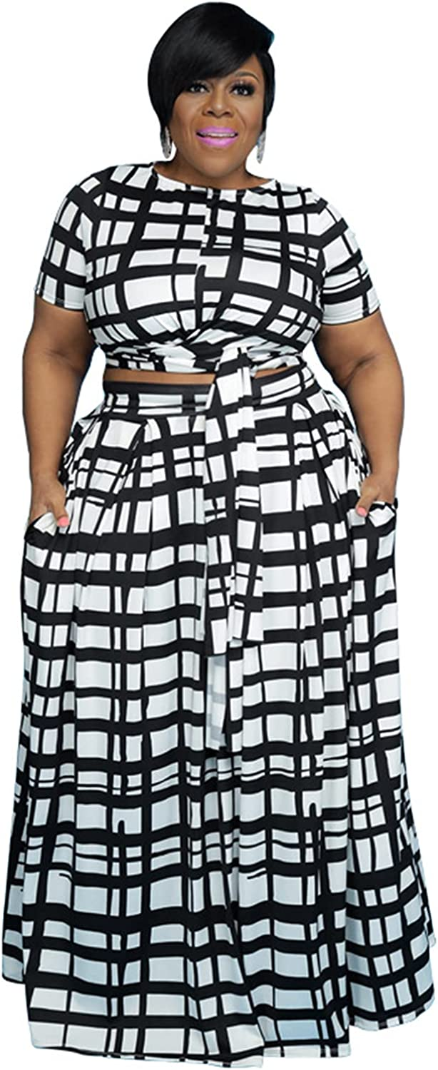 Womens Sexy Plus Size 2 Piece Dress Cheap mail order shopping Sleeve U Tie - Free shipping Short Outfits