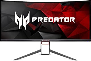 "Acer Predator Gaming X34 Pbmiphzx Curved 34"" UltraWide QHD Monitor with NVIDIA G-SYNC Technology (Display Port & HDMI Port..."