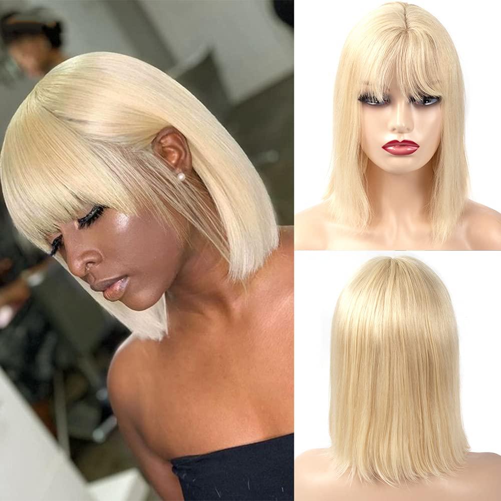 Honey Blonde Bob Max 78% OFF Wigs For Luxury goods White Black Straight Women Short