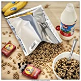 60-1 Gallon ShieldPro Mylar Bags (10'x14') & 60-300cc Oxygen Absorbers (in Packs of 20) for Dried Dehydrated and Long Term Food Storage - Food Survival