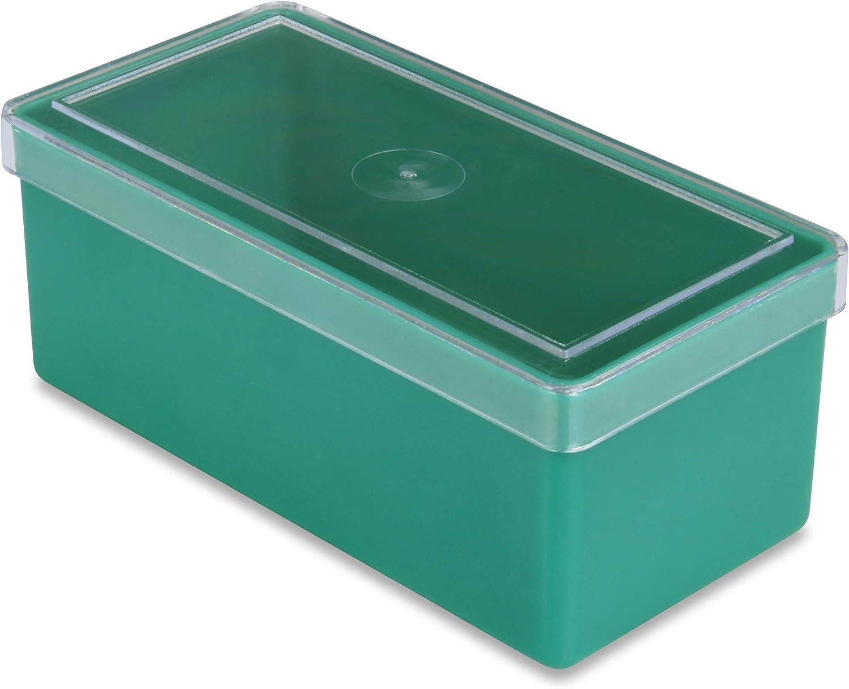 50 50 50 St. Einsatzkästen mit Klarsicht-Deckel, grün, Höhe 42 mm, L x B = 101,5 x 51,5 mm, aus Polystyol B00UDEWB7I | Auktion  efab3d