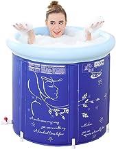 Piscina inflable Exterior Tina de baño baño hogar Desmontable Soporte de Ahorro de Espesamiento for Mantener el Calor bañera de Agua LINGZHIGAN (Size : 65 * 65cm)