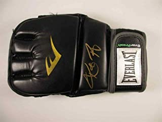 ronda rousey signed glove