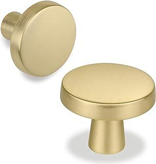 BOJI 2Pcs 3834mm Golden Furniture Handle Knob Wooden Jewelry Box Knob Door Cabinet Dresser Cupboard Pull Handle Furniture Fittings