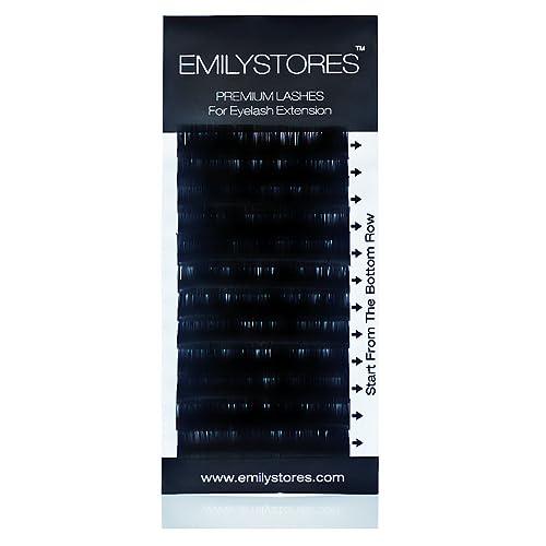 78194b30856 EMILYSTORES Eyelash Extension Individual Loose Signature Mink Eyelash C Curl  Thickness 0.15mm Length 12mm Silk