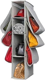 Sac Rangement Sac à main Hanging penderie cas sac à main de bourse Container Hanging Organisateur antipoussière Armoire Pl...