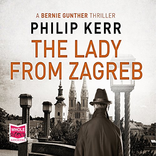 The Lady from Zagreb audiobook cover art