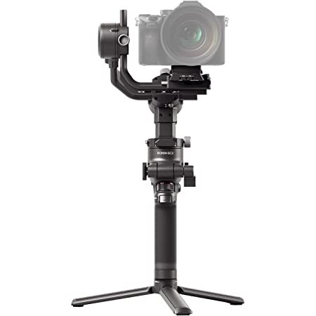 DJI RSC 2 - 3-Axis Gimbal Stabilizer for DSLR and Mirrorless Camera, Nikon, Sony, Panasonic, Canon, Fujifilm, 6.6 lb Payload, Foldable Design, Vertical Shooting, OLED Screen, Black
