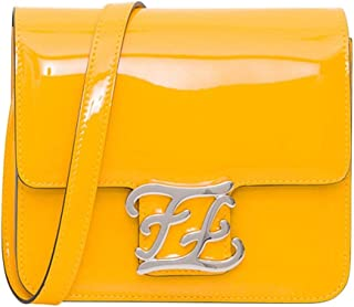 Luxury Fashion | Fendi Womens 8BT317A5AUF0KNA Yellow Shoulder Bag | Fall Winter 19