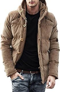 (ライズオンフリーク)RISEONFLEEK メンズ ダウン ジャケット ボリューム コート 中綿 アウター 冬 暖かい シンプル かっこいい GO-25