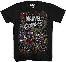 Marvel Men's Comics Crew T-Shirt