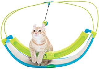 Kitty City Rocking Roller - Balls Included - Cat Toy with Scratch Pad