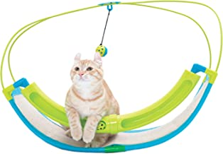 Sportpet Kitty Rocking Roller - Balls Included - Cat Toy with Scratch Pad